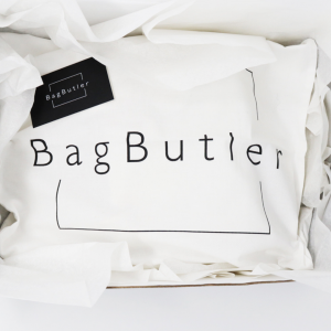 BagButler packaging with dust bags
