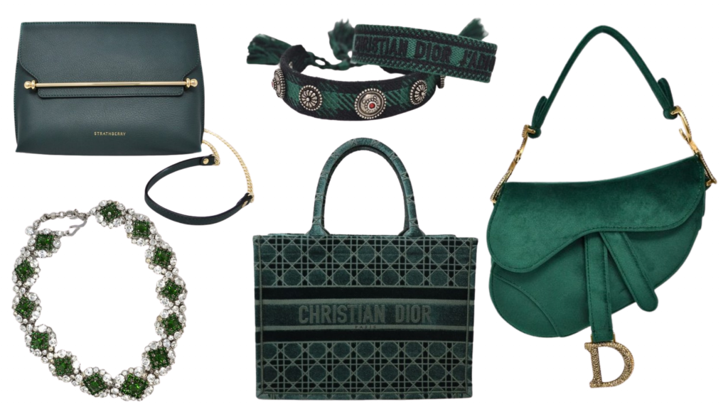 bagbutler green bags and accessories