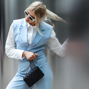 Classic Chanel Mini Flap in Black handbag