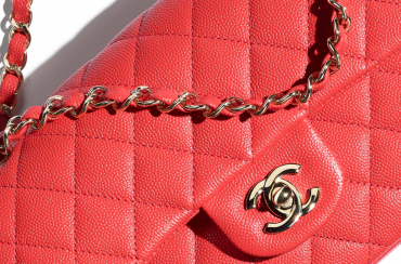 Classic Chanel Flap Bag in Red